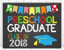 Basketball Courts Closed for Preschool Graduation