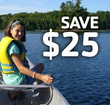 Y Members Save $25 on Overnight Camp