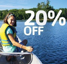 Register now and receive 20% off additional resident camp sessions!