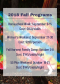 Fall Program Registration Open!
