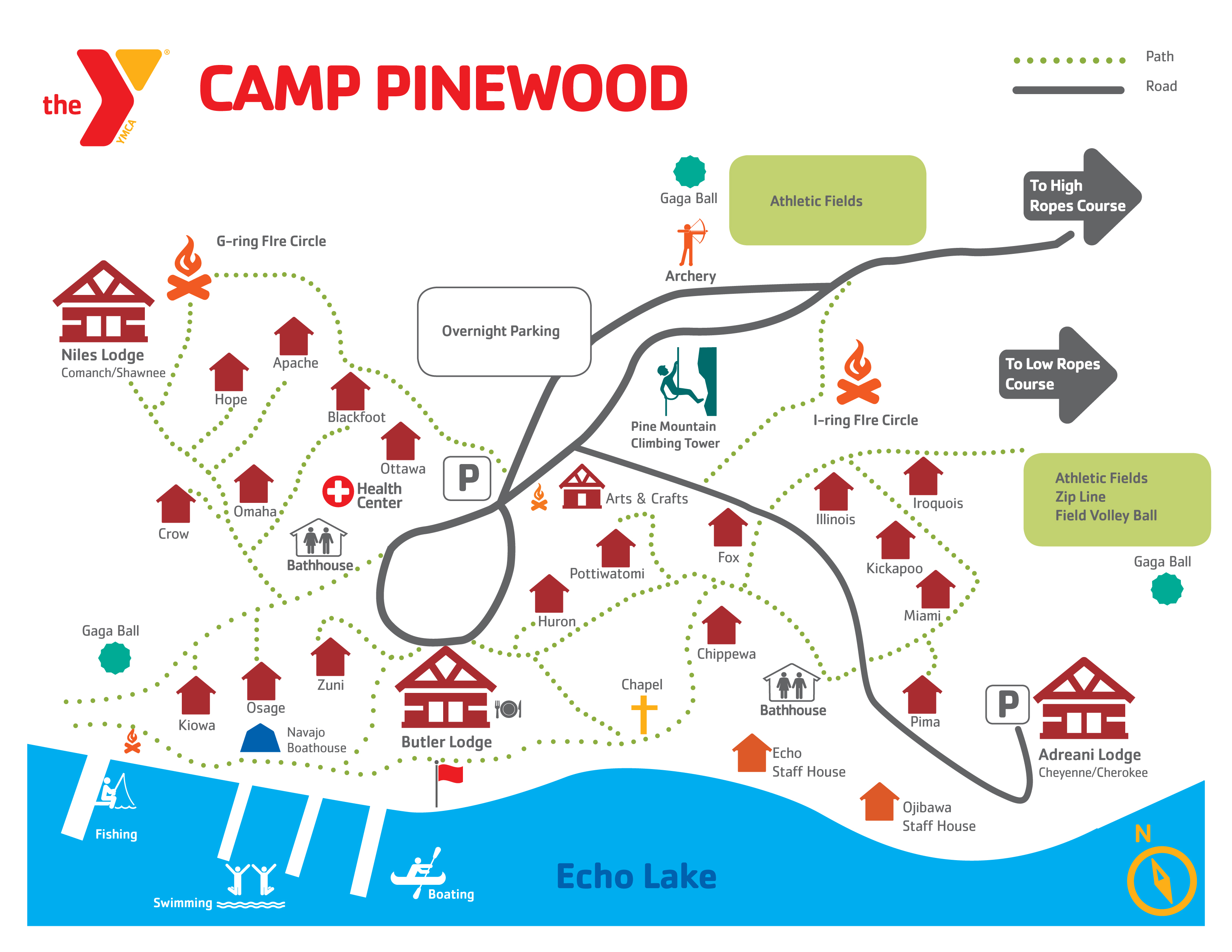 YMCA Camp Pinewood Ymca Map on little league map, boy scout council map, lake james north carolina topographic map, panera bread map, sams club map, elks lodges map, holiday inn map, lions club map, con edison map,