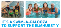 It's a Swim-a-palooza to support the Elmhurst Y!