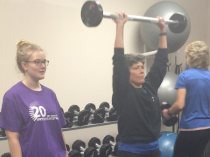 Meet Diane C, a personal trainer at Naperville YMCAs