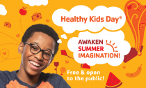 Save the date April 27, 2019 is Healthy Kids day