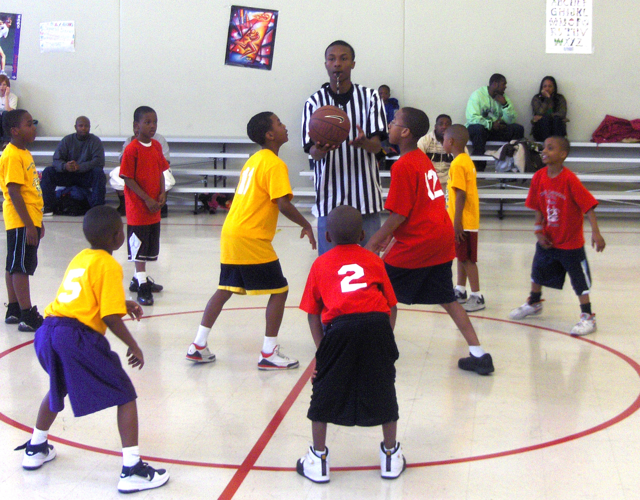 For 9 Years, the Kelly Hall Y Has Turned Teens into Basketball Officials