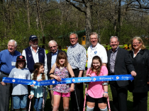 Kiwanis Builds Playground at Camp Independence for Children with Spina Bifida