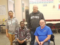 Organ Recipients Meet Donor's Dad at the Kelly Hall YMCA