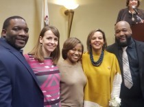 YMCA representatives attend Congresswoman Robin Kelly's in-district inauguration