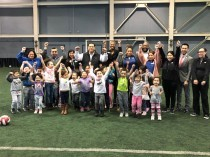 State Senator Marty Sandoval visits the Rauner Family YMCA