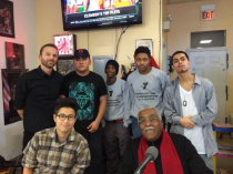 Vocalo's The Barber Shop Show talks with the Y's Story Squad about community violence