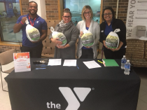 Grateful for Thanksgiving Turkeys at the Buehler YMCA