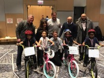 Boston Scientific Donates Bicycles for Kelly Hall YMCA Youth