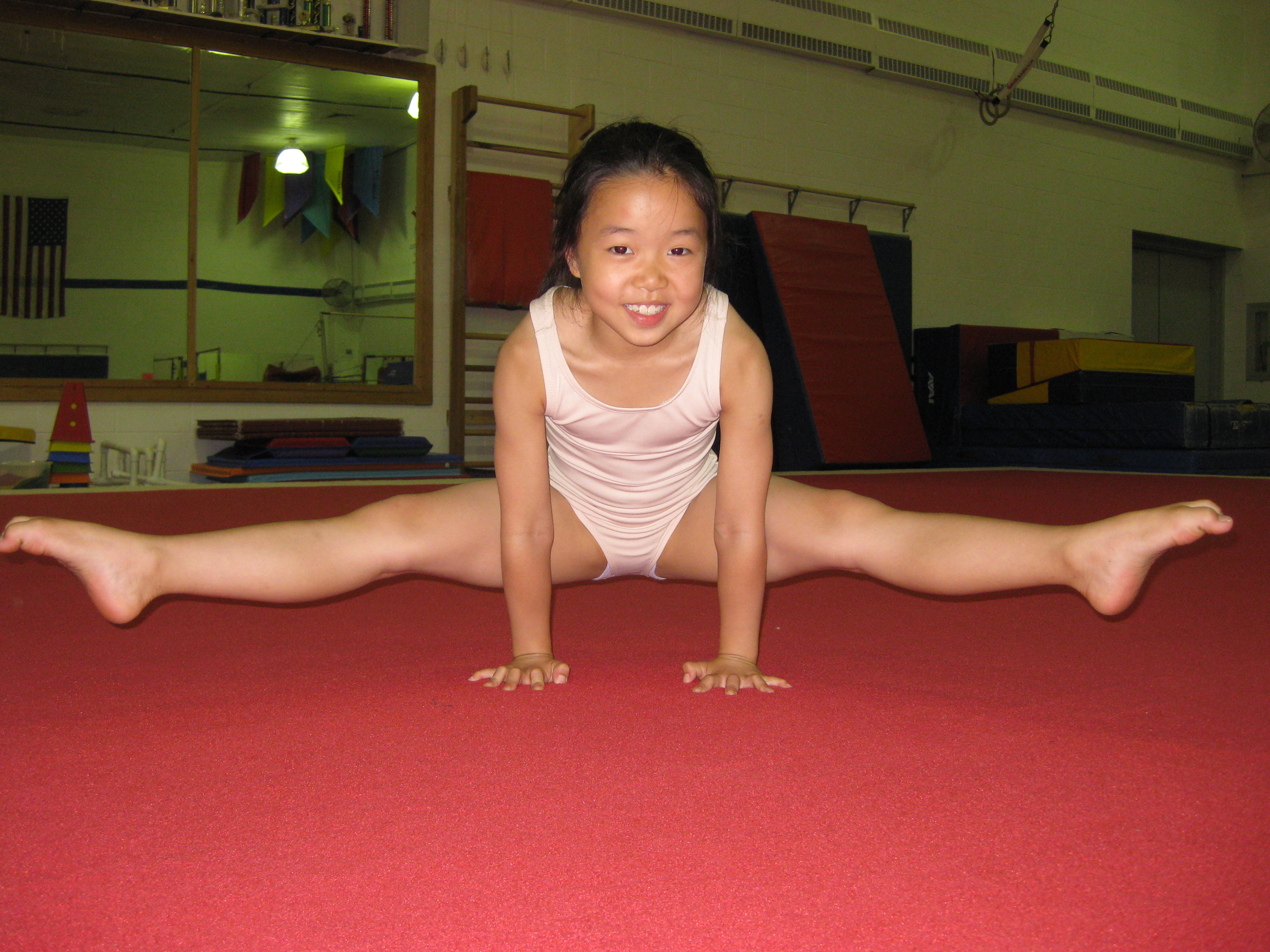 Japanese Teen Gymnast 57