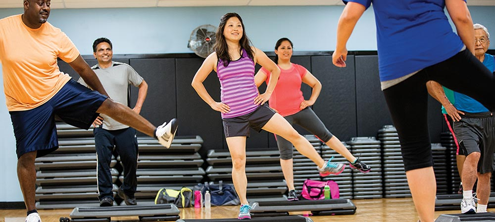 Hundreds of free Group Exercise Classes included in your paid YMCA membership.