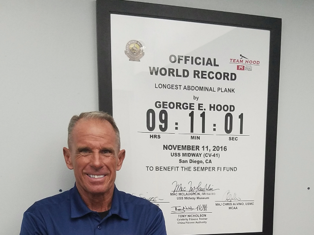 Meet George Hood, World Record Holder and Our New Fitness Director