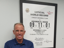Meet George Hood World Record Holder and Our New Fitness Director