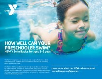 PRIVATE SWIM LESSONS Individual swim instruction for preschool through adults.