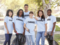 High schoolers who volunteer are more likely to graduate college