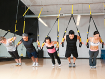 TRX a total Body work out in only 45 minutes