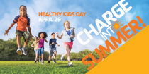 Celebrate Healthy Kids Day at the Lake View YMCA - Saturday, April 29