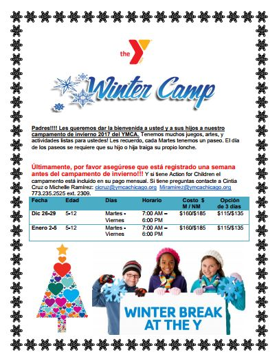 Winter Camp Spanish