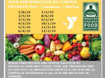 2019 Produce Day Dates