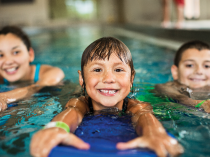 Winter swim lessons at West Communities YMCA