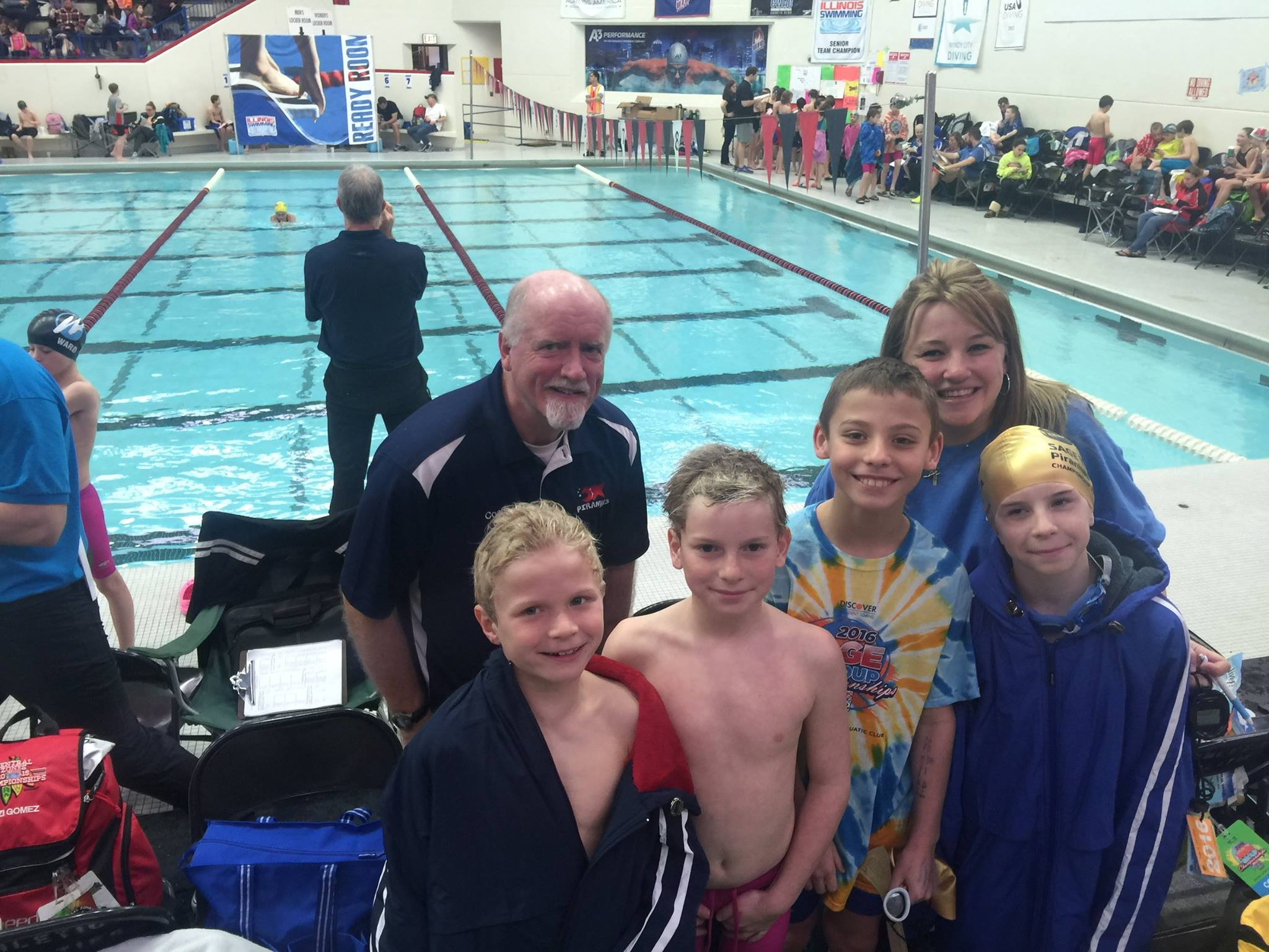 Piranhas Swim Team Sage Ymca Of Metro Chicago Crystal