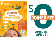 $0 Joiner Fee Last Chance Today Saturday, April 21st At The Sage YMCA!