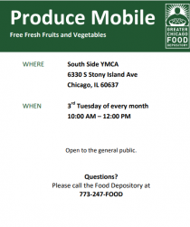 Join us for our Produce Mobile on July 17th!