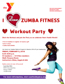 I Heart Zumba Workout Party