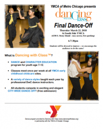 Join us for Dancing with Class