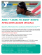 "April is Adult ""Learn-to-Swim"" Month"