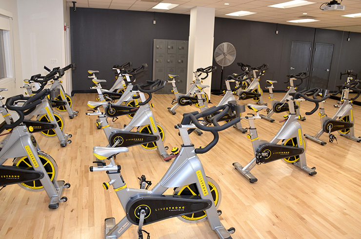 New space for cycling classes