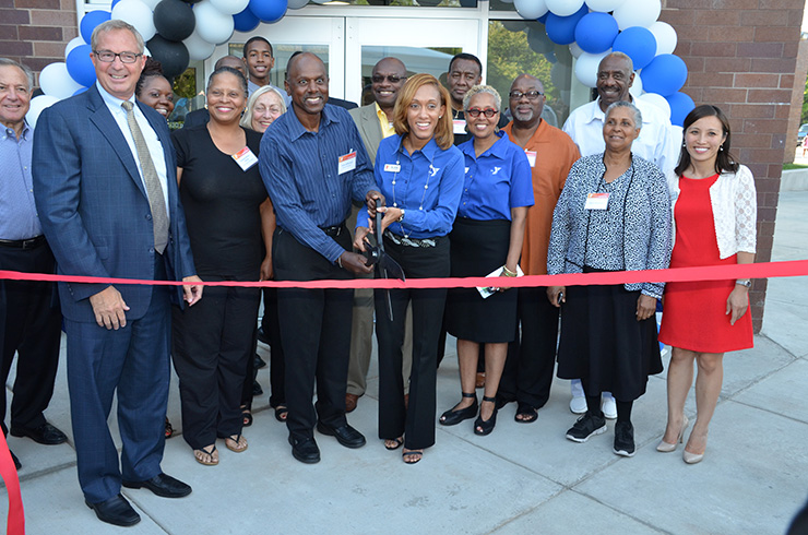 Ribbon-cutting ceremony marks completion of a $3.6 million renovation of the South Side YMCA