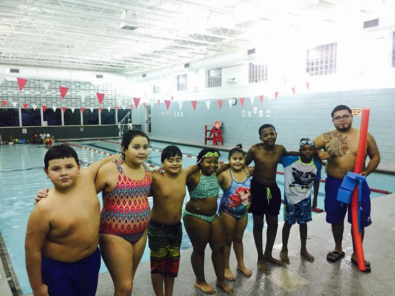 Community Schools Students Swim Toward Success at the West Communities YMCA
